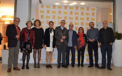 Escola Valenciana guardona Rafael L. Ninyoles, Pluja Teatre i  la Federació de MRP del País Valencià en la Nit Fusteriana