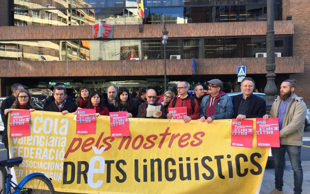 Plataforma pels Drets Lingüístics: «El Govern espanyol ha de desplegar lleis de protecció de la diversitat lingüística i cultural de l'Estat»