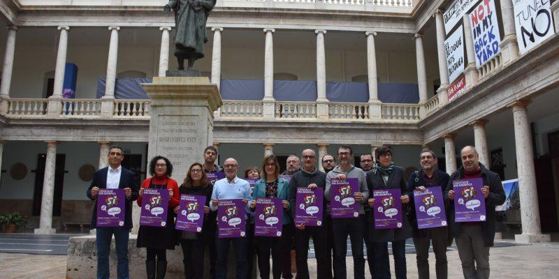 Escola Valenciana organitza una gran festa per la dignitat de l'educació i l'ensenyament en valencià