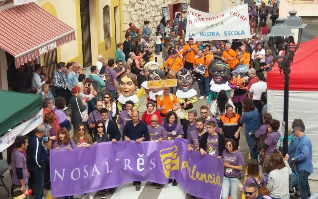 La XXXIIIa Trobada de la Marina Alta reivindica el valencià com la llengua d'accés al plurilingüisme i a un futur d'oportunitats