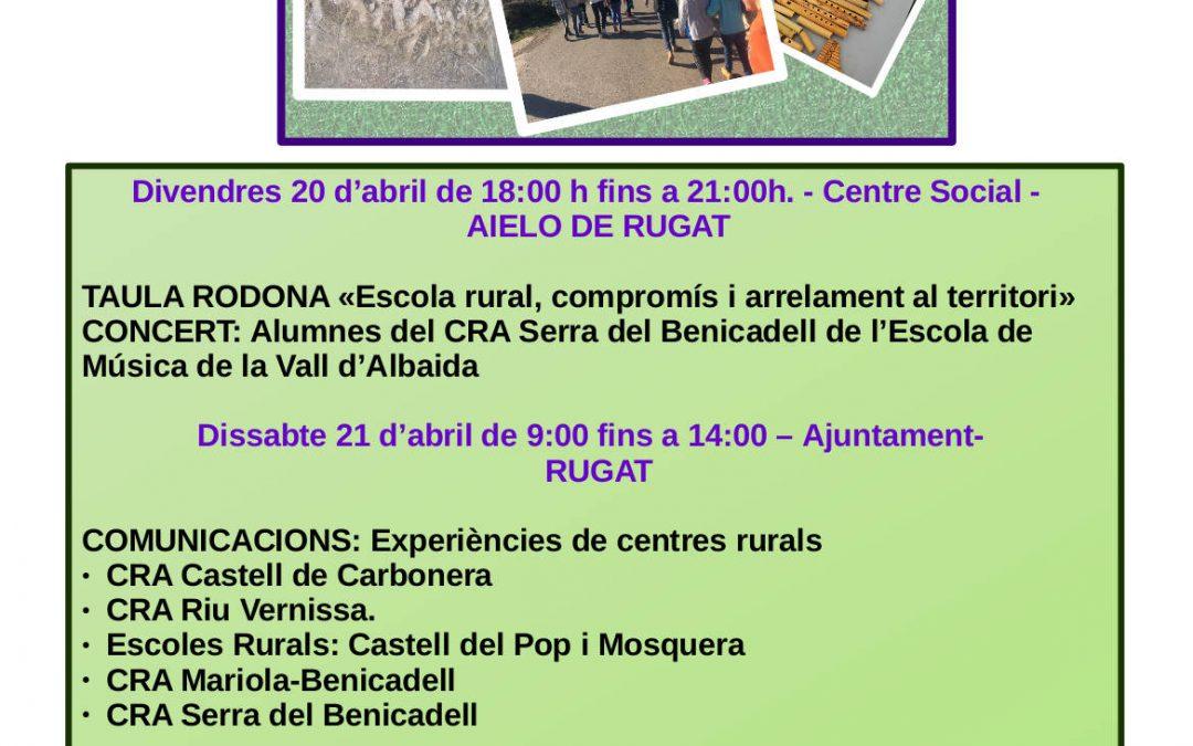 La Coordinadora de la Vall d'Albaida i el CRA Serra del Benicadell organitzen la I Trobada d'Escoles Rurals