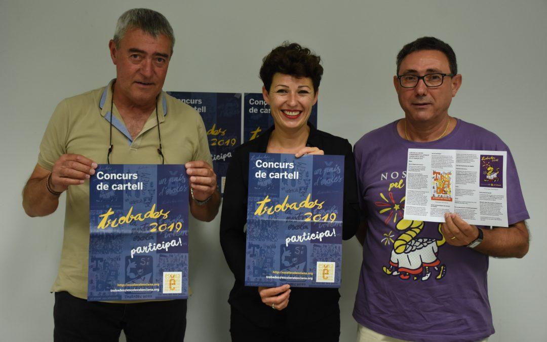 Escola Valenciana fomenta la creativitat amb el I Concurs de cartells de Trobades