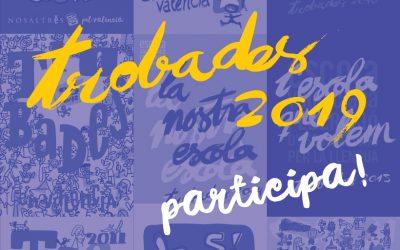 Escola Valenciana presenta el I Concurs de cartells de les Trobades 2019 a la Facultat de Belles Arts de la UMH d'Altea