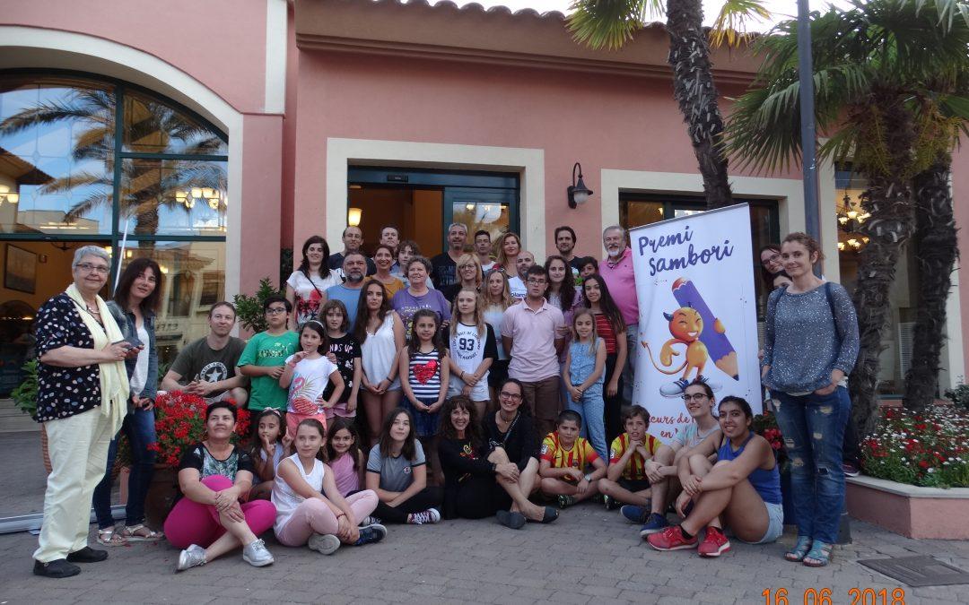 La Fundació Sambori viatja a Port Aventura amb l'alumnat guardonat en el certamen literari