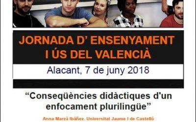 Arranca la Jornada d'ensenyament i ús del valencià als centres educatius