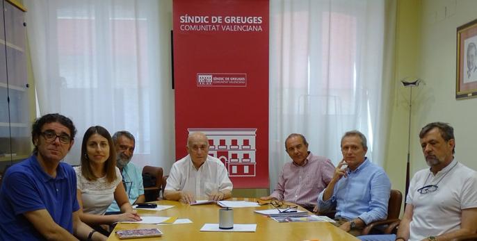 El Síndic de Greuges i Escola Valenciana acorden col·laborar per protegir els drets lingüístics