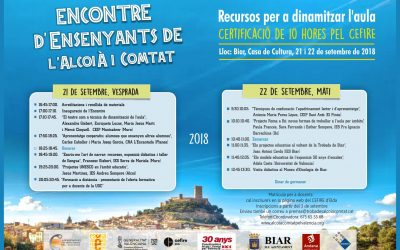 Demà arranca la XXXIa edició de l'Encontre d'Ensenyants a Biar