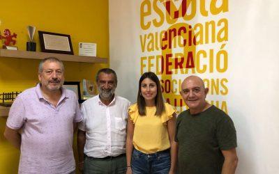 Escola Valenciana i la Plataforma pel Dret a Decidir enceten línies de treball conjunt