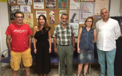 Intersindical i Escola Valenciana es reuneixen i acorden intensificar les seues relacions