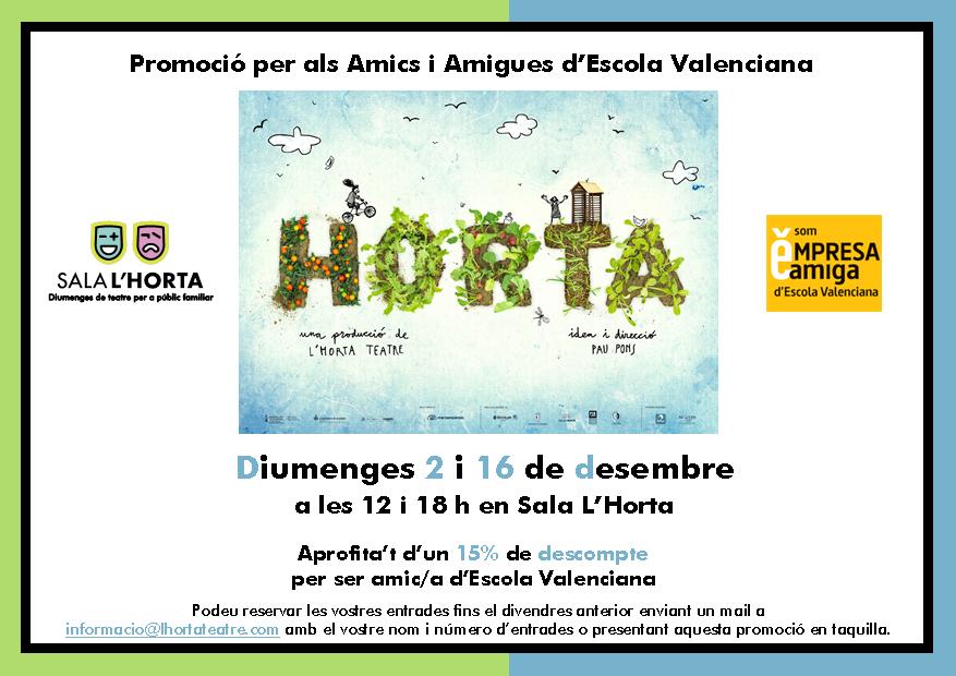 """""""Horta"""" a la Sala l'Horta de València"""
