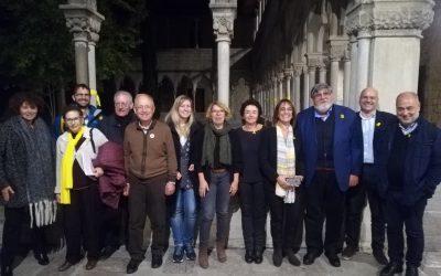 FOLC reuneix a Girona una cinquantena de persones per debatre sobre la situació de la llengua catalana