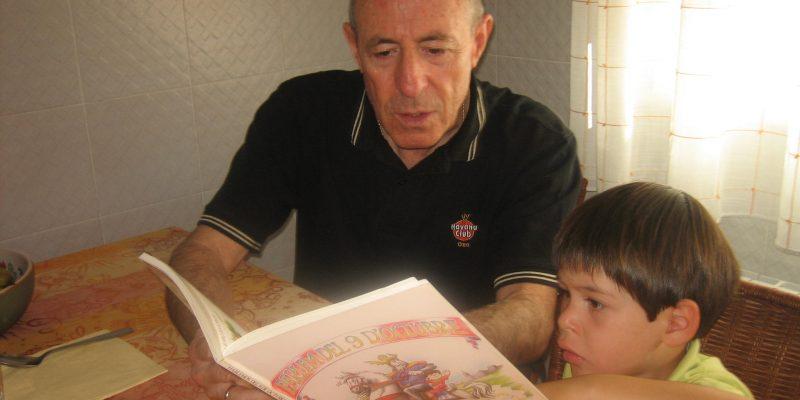 Manuel Vicent Albiol: «La llengua és el nostre patrimoni i l'hem de fer créixer sempre»
