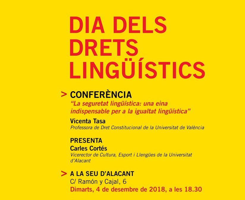 Dia dels Drets Lingüístics a Alacant